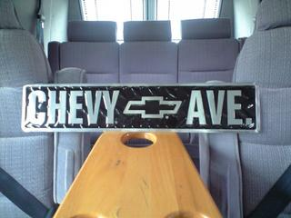 CHEVY AVE.